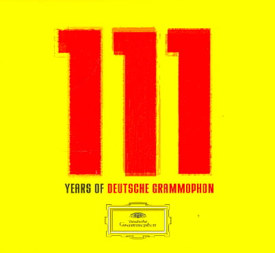 111 YEARS OF DEUTSCHE GRAMMOPHON (CD)