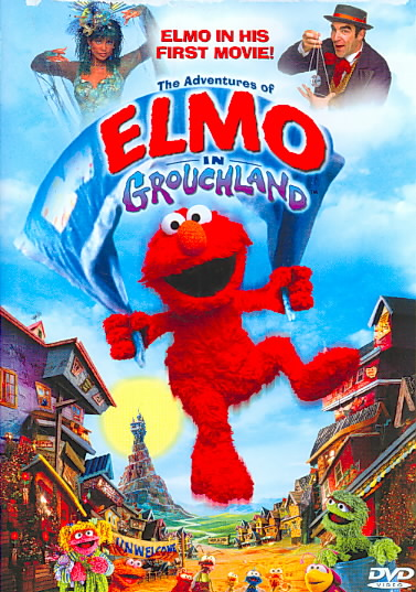 ADVENTURES OF ELMO IN GROUCHLAND BY ELMO'S WORLD (DVD)